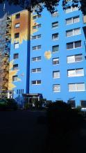 Hochhaus, Wuppertal , Schmetterling, Atelier Allgaier