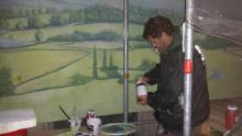 ich beim malen
